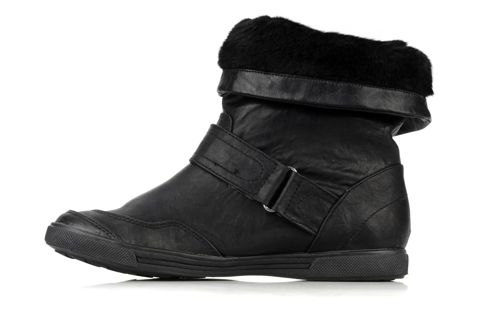 Ankle boots Mustang shoes Kevia Black front view