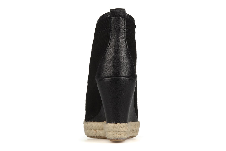 Bottines et boots Eden Tolipa Noir vue droite