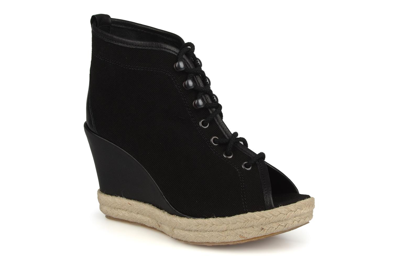 Bottines et boots Eden Tolipa Noir vue détail/paire