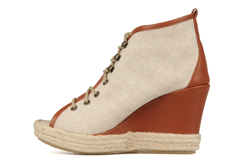 Bottines et boots Eden Tolipa Beige vue face