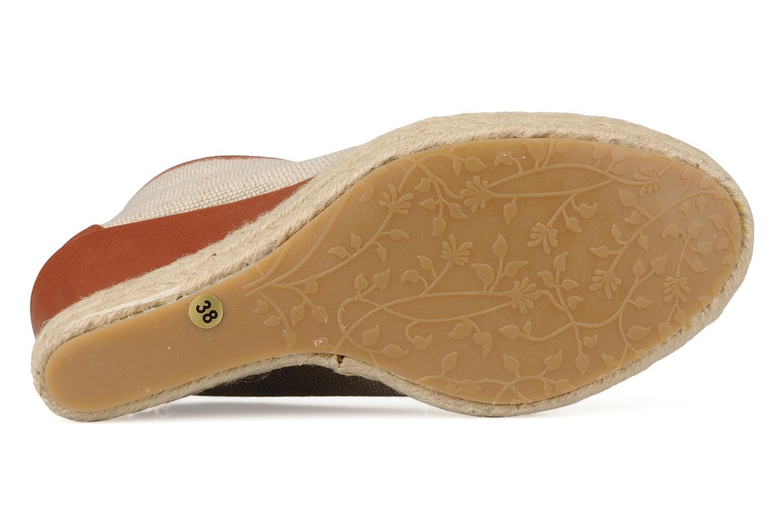 Bottines et boots Eden Tolipa Beige vue haut