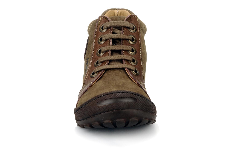 Bottines et boots Mod8 Garcia Marron vue portées chaussures