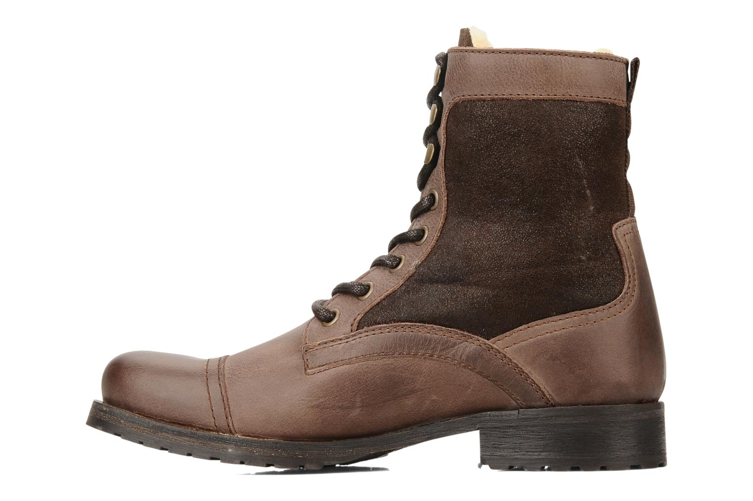 Ankle boots Buffalo Chuppa Brown front view