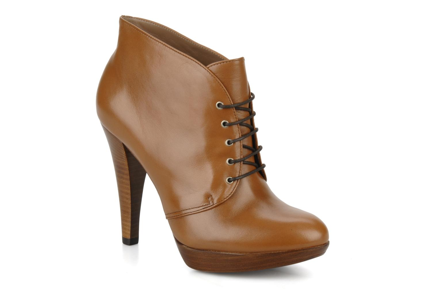 Ankle boots Geox Donna keira c Brown detailed view/ Pair view