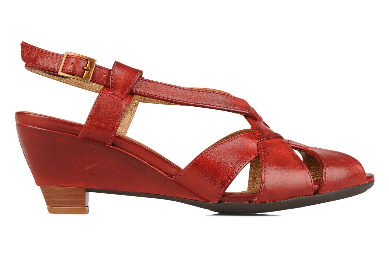 Sandales et nu-pieds Pikolinos Niza 7141 Bordeaux vue derrière