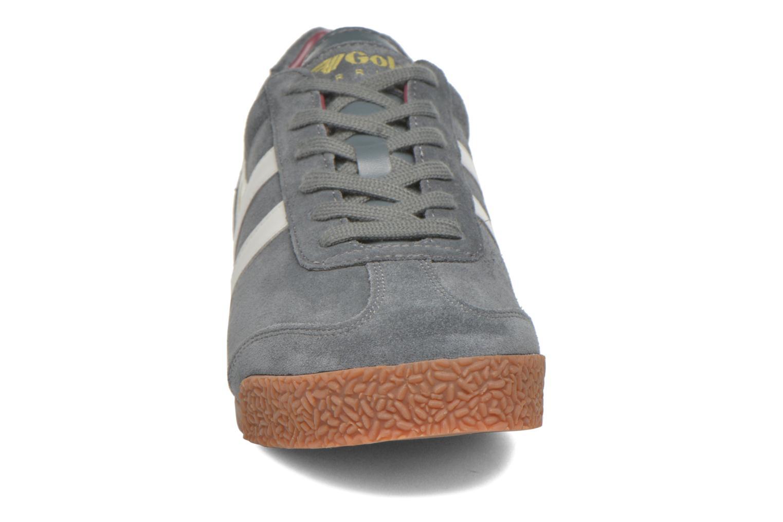 Sneaker Gola Harrier m grau schuhe getragen