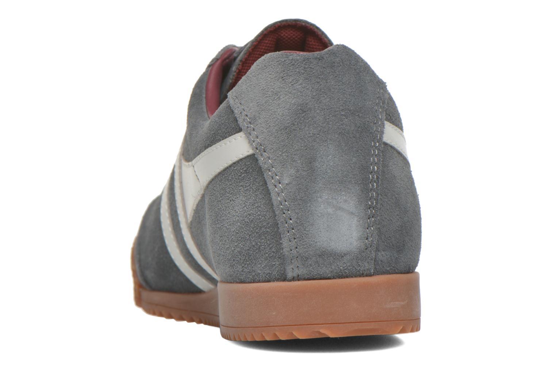 Sneaker Gola Harrier m grau ansicht von rechts