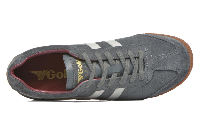 Sneaker Gola Harrier m grau ansicht von links
