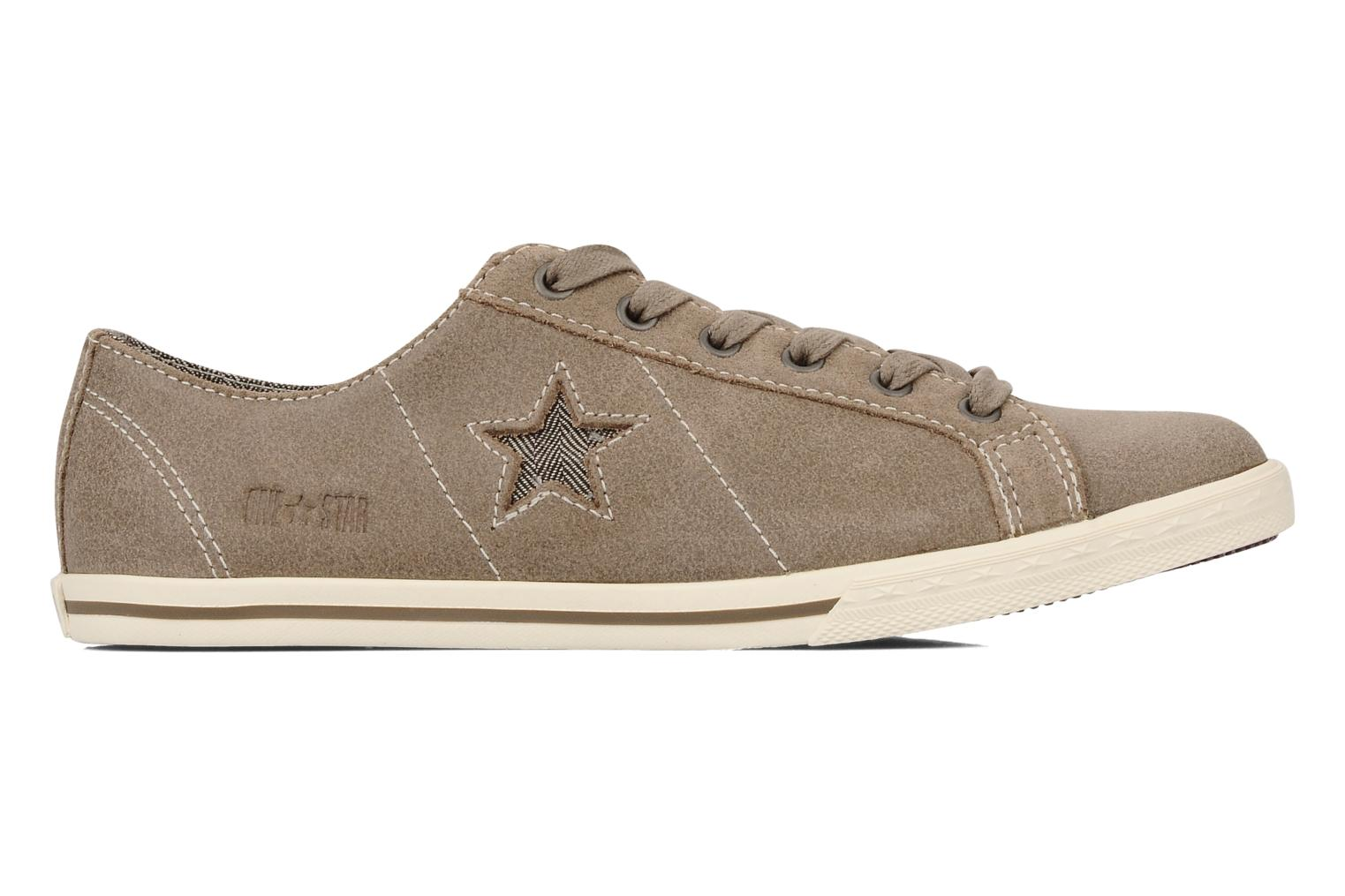 One star low profile suede ox w Taupe ecru