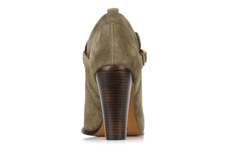 Boots en enkellaarsjes Tila March Booty strap suede Groen rechts