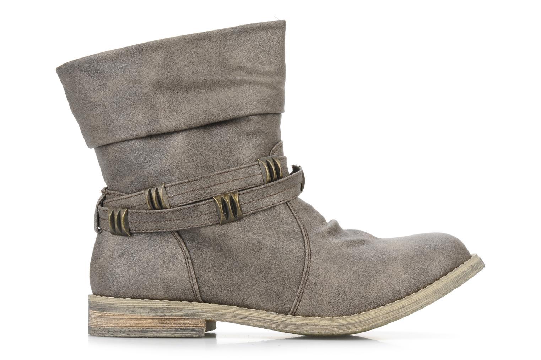 Bottines et boots Blowfish Texas Beige vue derrière