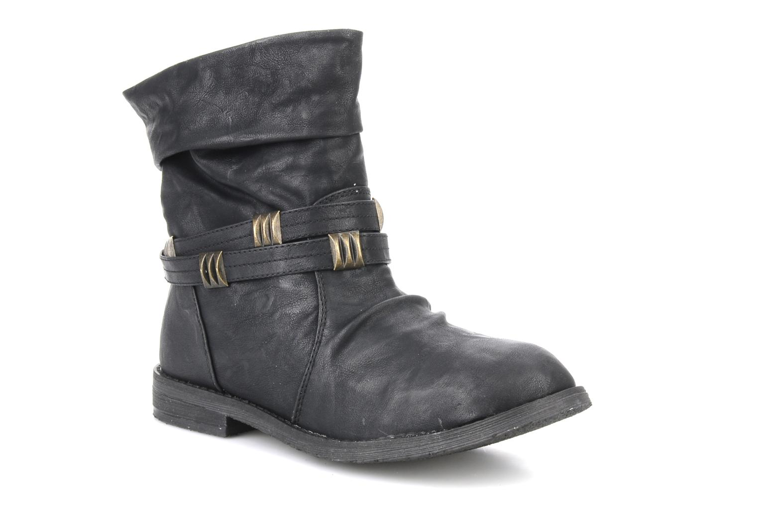 Ankle boots Blowfish Texas Black detailed view/ Pair view