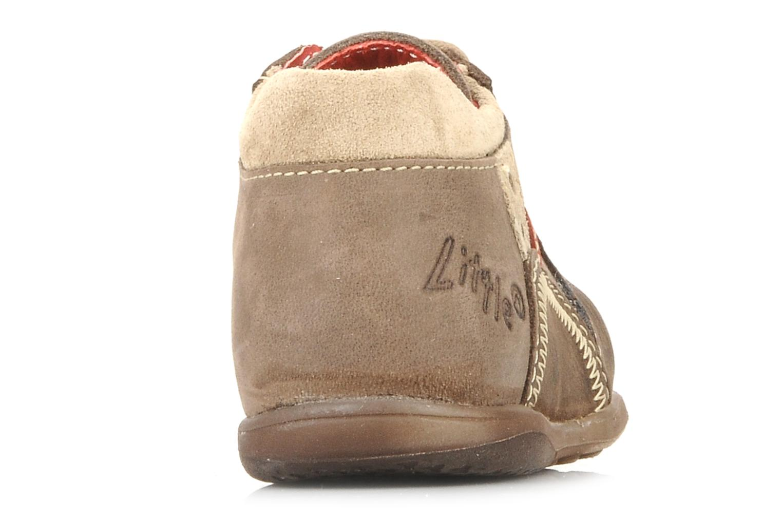 Ankle boots Little Mary Initial Brown view from the right
