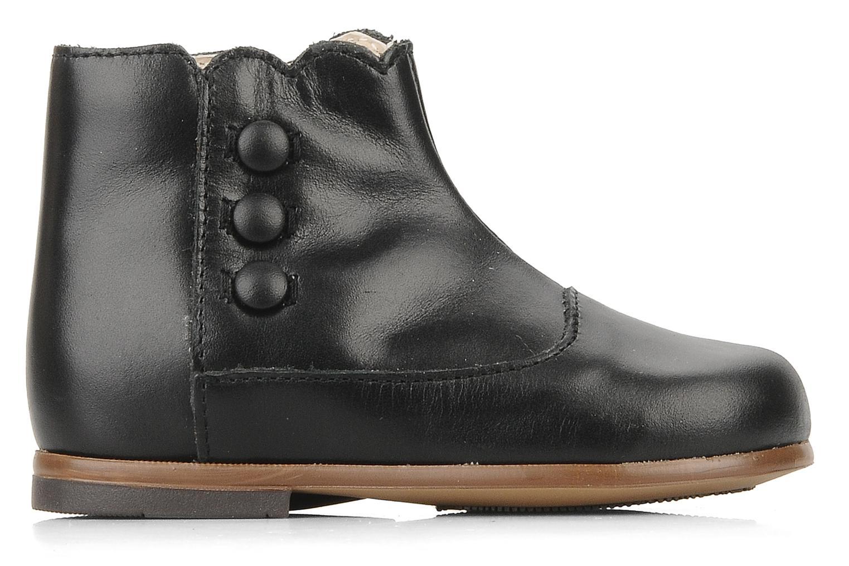 Bottines et boots Little Mary Greta Noir vue derrière