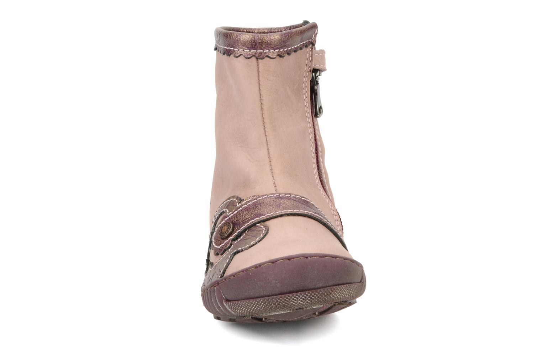 Bottines et boots Little Mary Indienne Rose vue portées chaussures