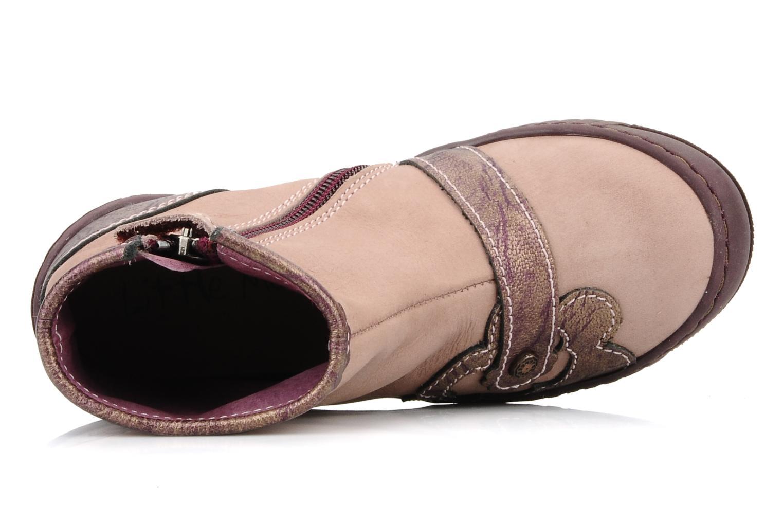 Bottines et boots Little Mary Indienne Rose vue gauche