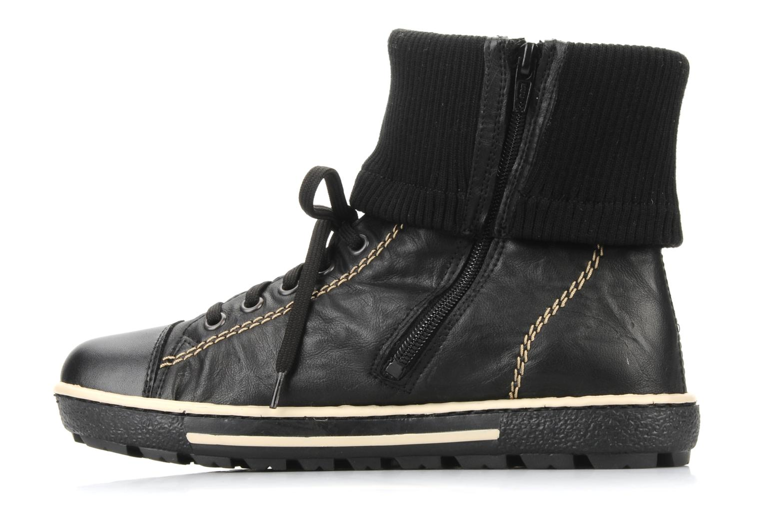 Trainers Rieker Hulla Z8760 Black front view