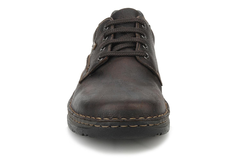 Lace-up shoes Rieker Riek 05310 Brown model view