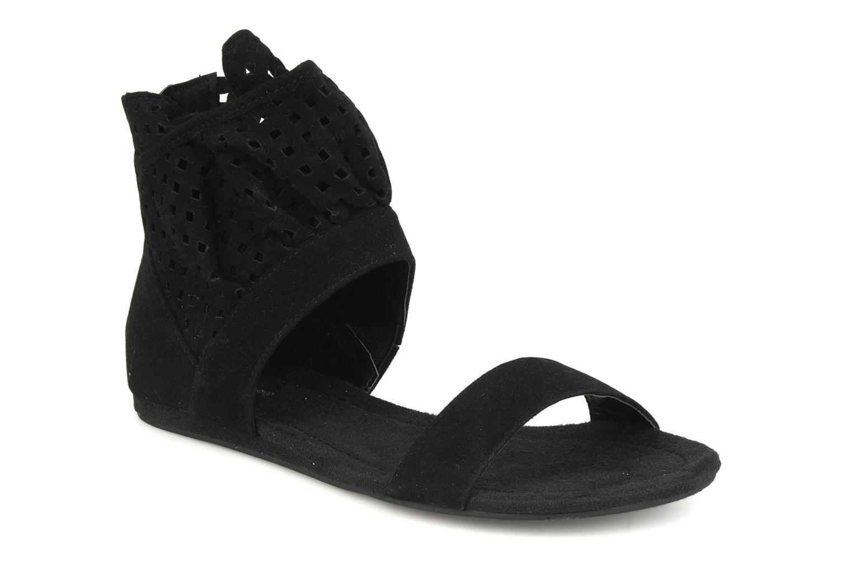 Sandales et nu-pieds Latinas Holly Noir vue détail/paire