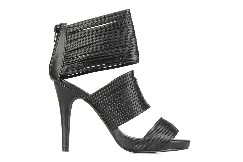 Sandalen Latinas Elega Zwart achterkant