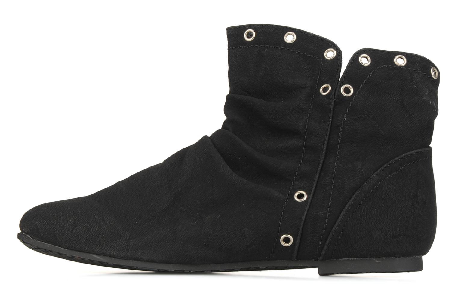 Ankle boots Latinas Boucli Black front view