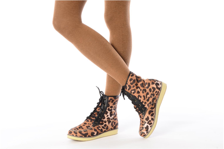 Stiefeletten & Boots Friis & company Beinta braun ansicht von unten / tasche getragen