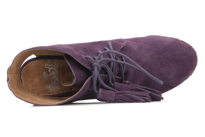 Stiefeletten & Boots Friis & company Belinda lila ansicht von links
