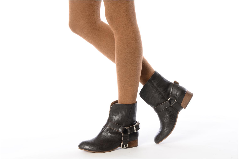 Bottines et boots Friis & company Beaneth Marron vue bas / vue portée sac