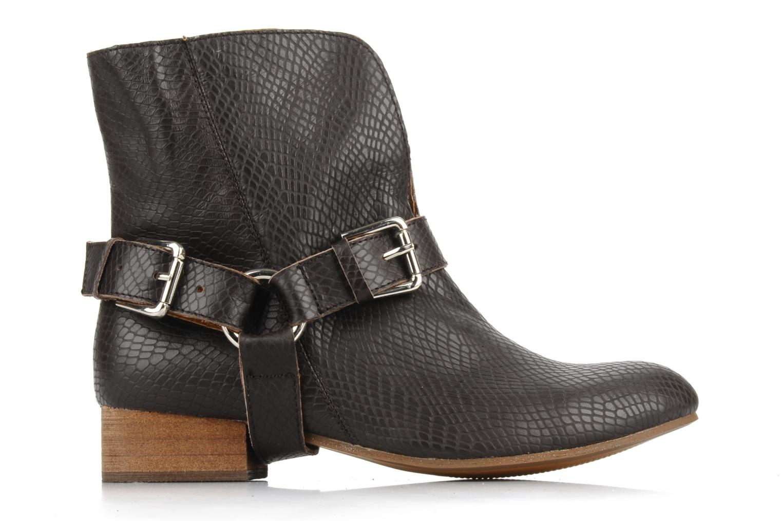 Ankle boots Friis & company Beaneth Brown back view