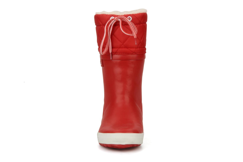 Botas Aigle Giboulée Rojo vista del modelo