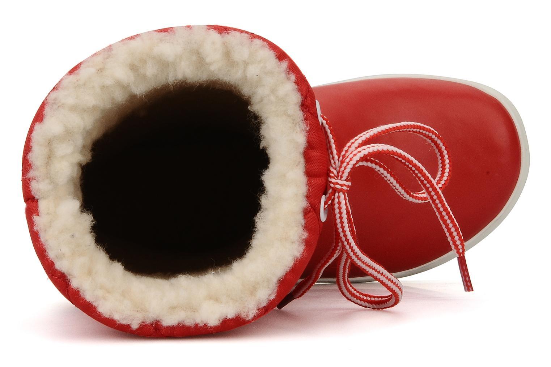 Botas Aigle Giboulée Rojo vista lateral izquierda