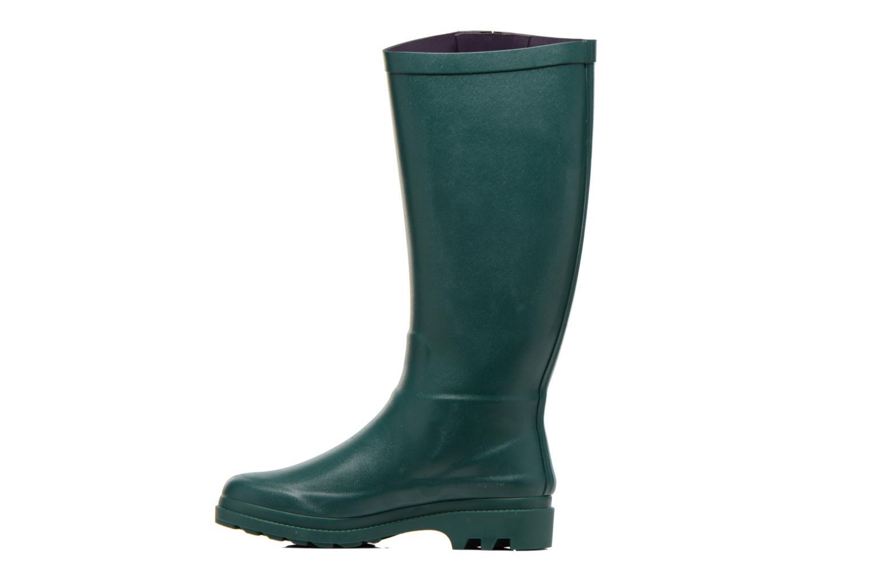 Stiefel Aigle Aiglentine grün ansicht von vorne