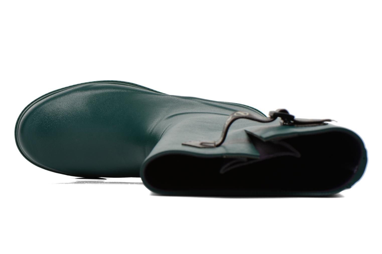 Stiefel Aigle Aiglentine grün ansicht von links