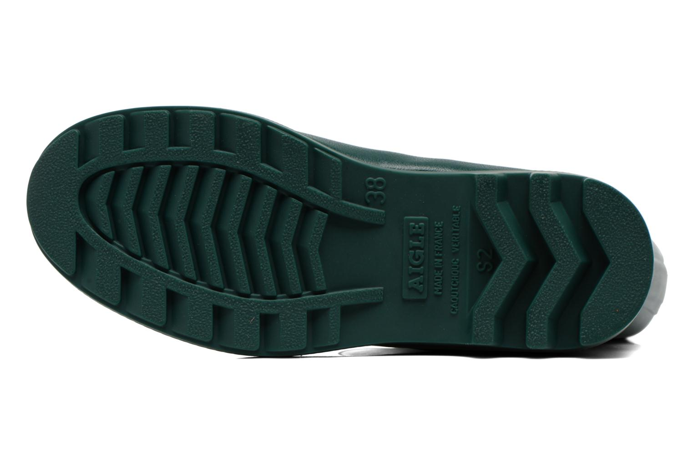 Stiefel Aigle Aiglentine grün ansicht von oben