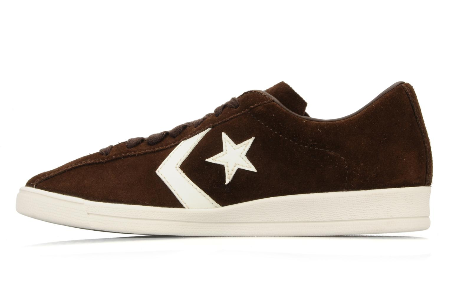 Sneakers Converse Classic trainer suede ox w Marrone immagine frontale