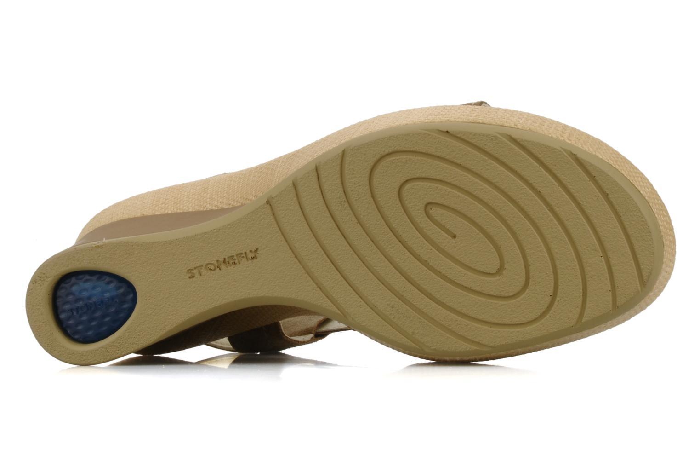 Sandales et nu-pieds Stonefly Only 14 Beige vue haut