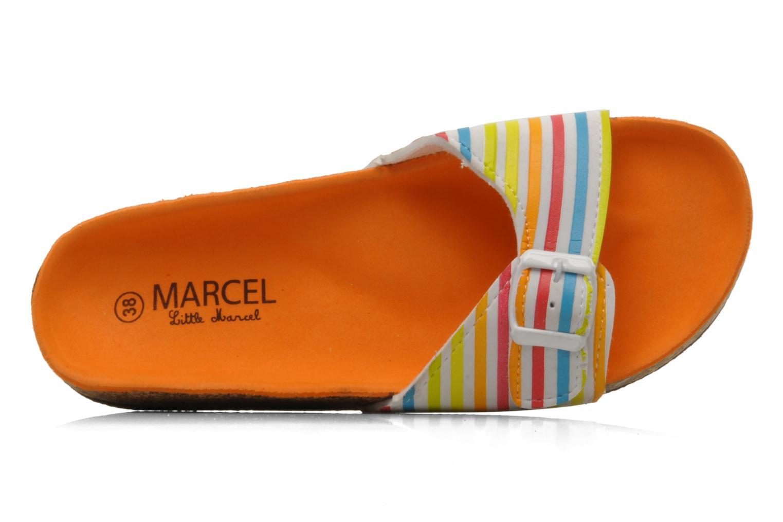 Mules et sabots Little Marcel Calabre Multicolore vue gauche