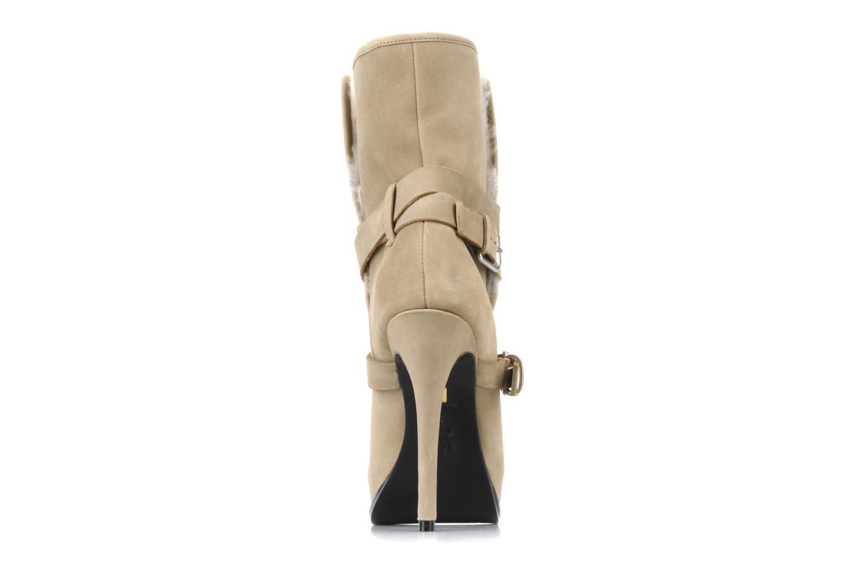 Bottines et boots Pour La Victoire Lizzie Beige vue droite