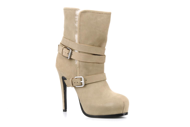 Boots en enkellaarsjes Pour La Victoire Lizzie Beige detail