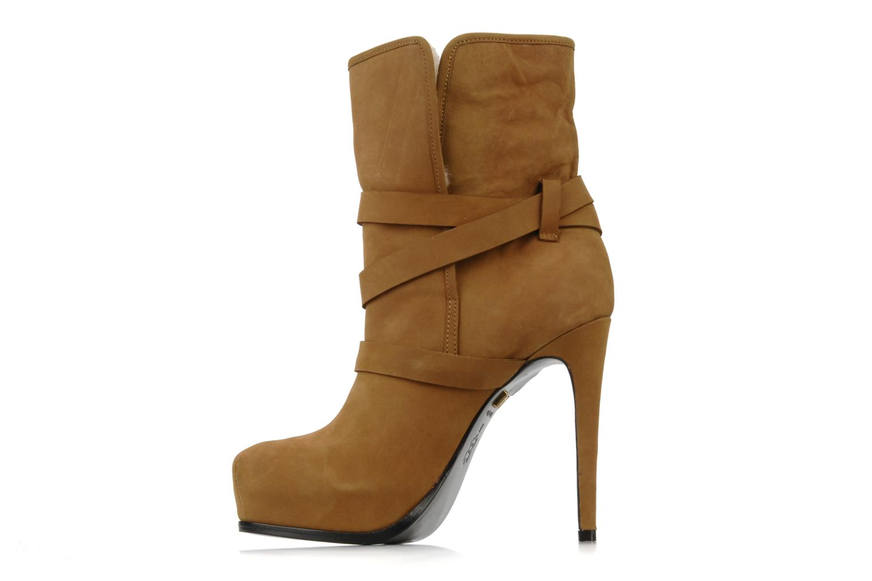 Bottines et boots Pour La Victoire Lizzie Marron vue face