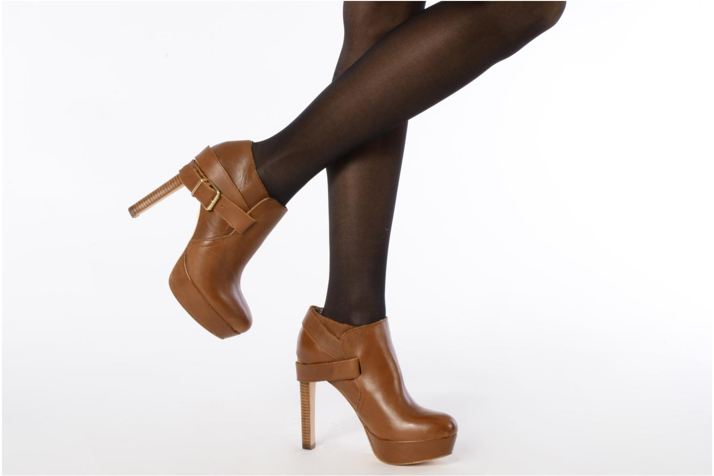 Stiefeletten & Boots Pour La Victoire Amael braun ansicht von unten / tasche getragen