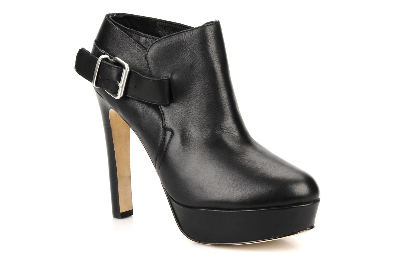 Ankle boots Pour La Victoire Amael Black detailed view/ Pair view