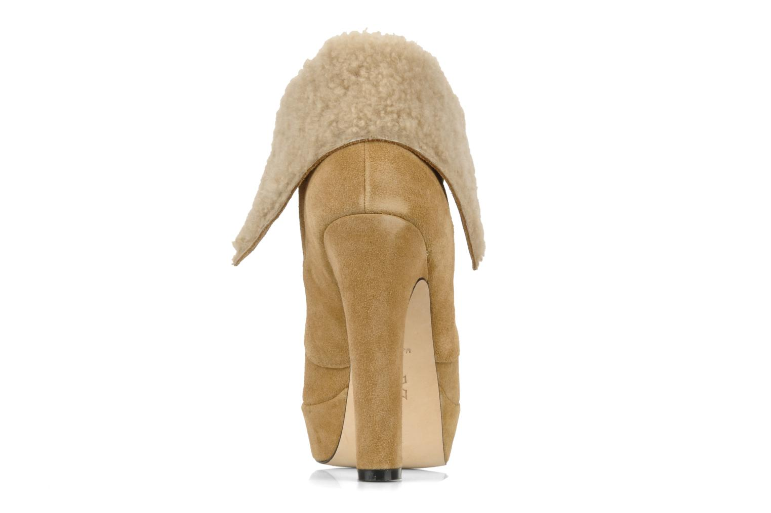 Ankle boots Pour La Victoire Aileen Beige view from the right
