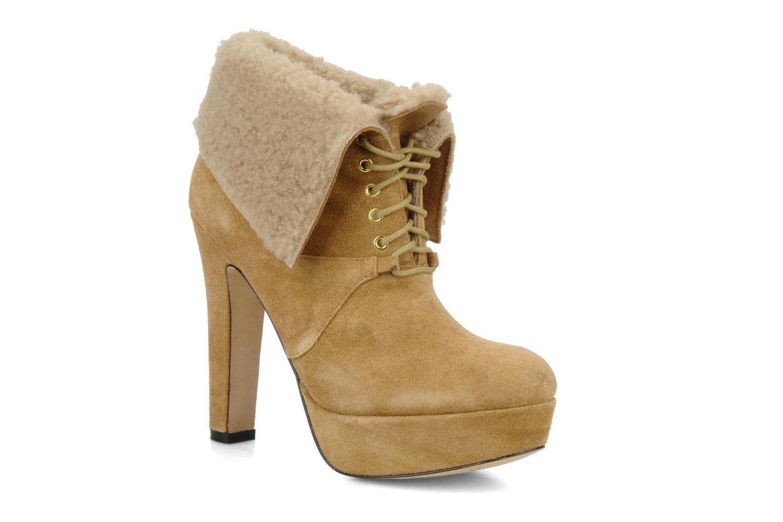Boots en enkellaarsjes Pour La Victoire Aileen Beige detail