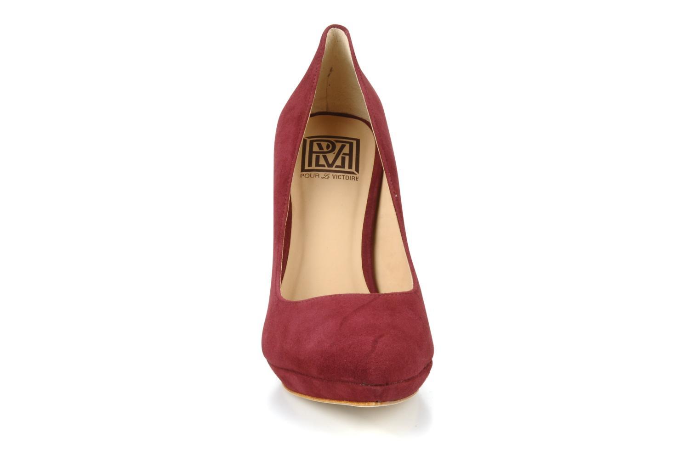 Escarpins Pour La Victoire Daina Bordeaux vue portées chaussures