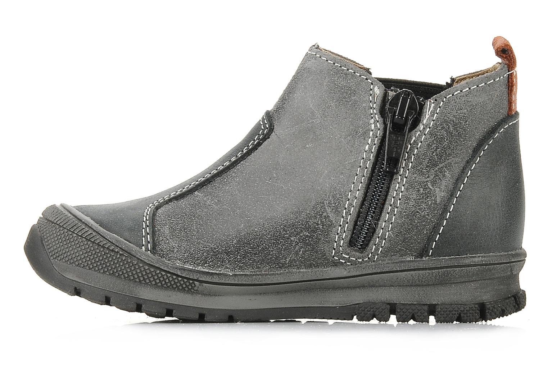 Bottines et boots Bopy Beta Noir vue face