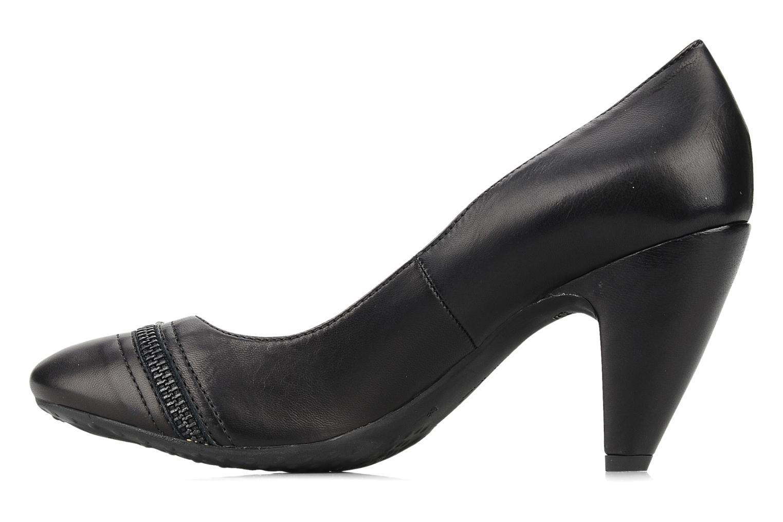 High heels Fornarina Bea Black front view