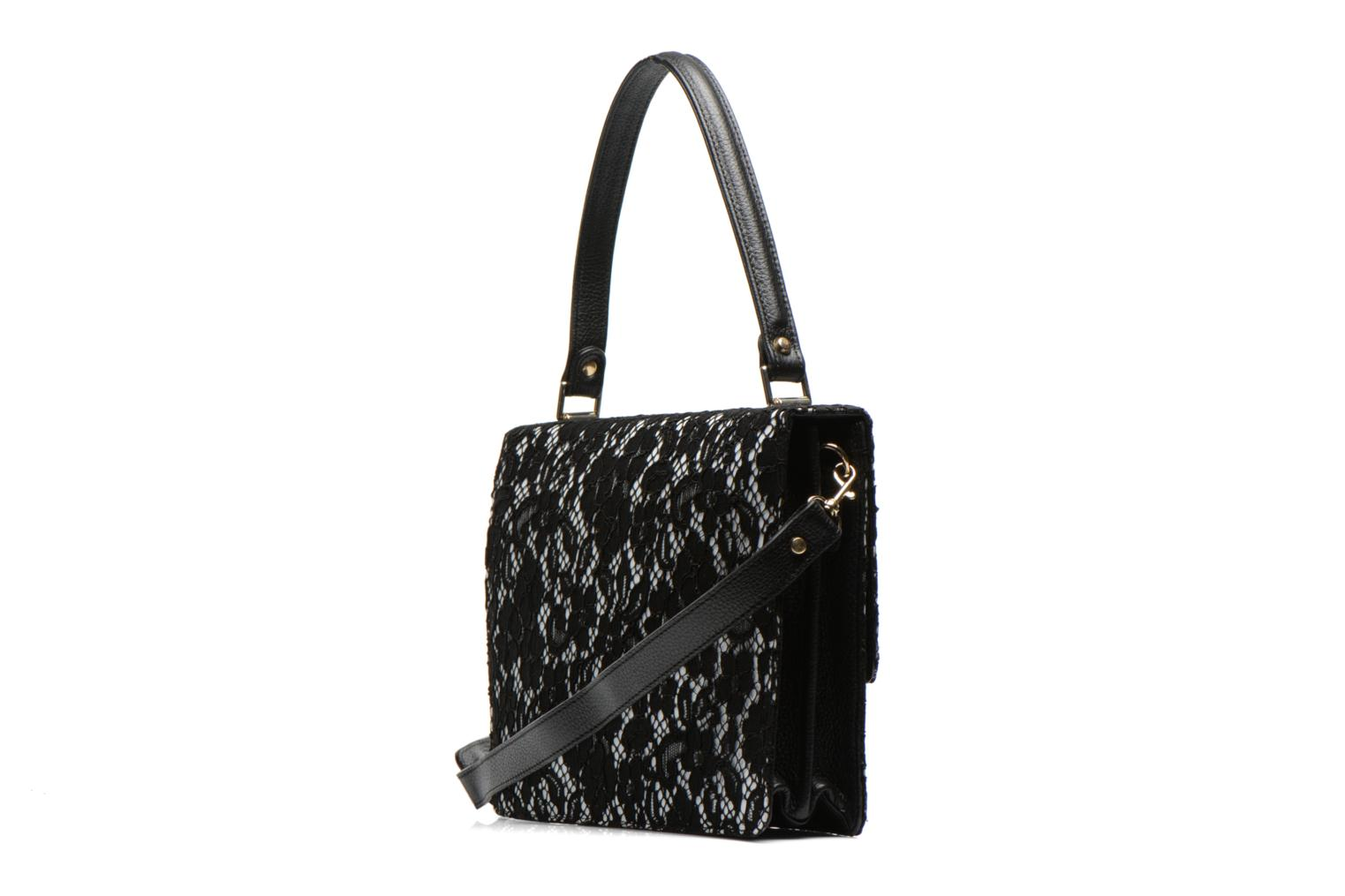 Handbags MySuelly Louise Emma Black view from the right