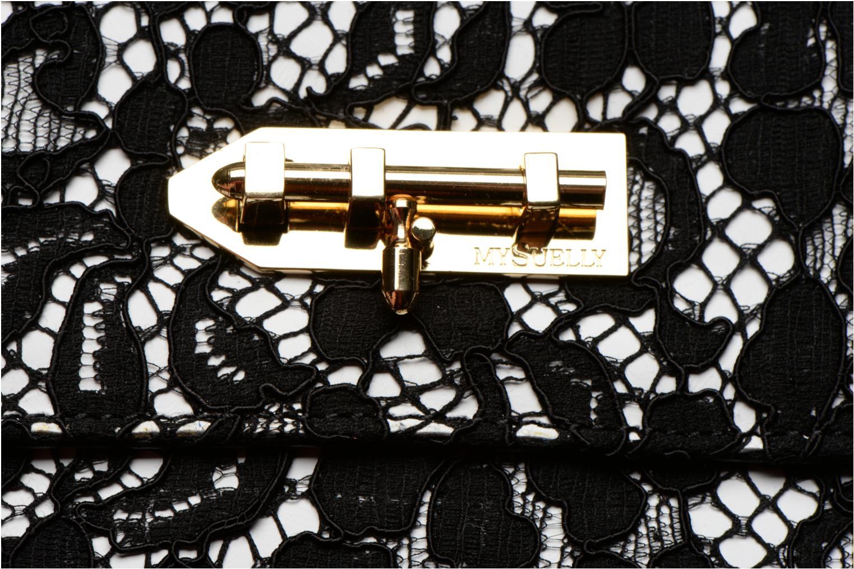Handtaschen MySuelly Louise Emma schwarz ansicht von links