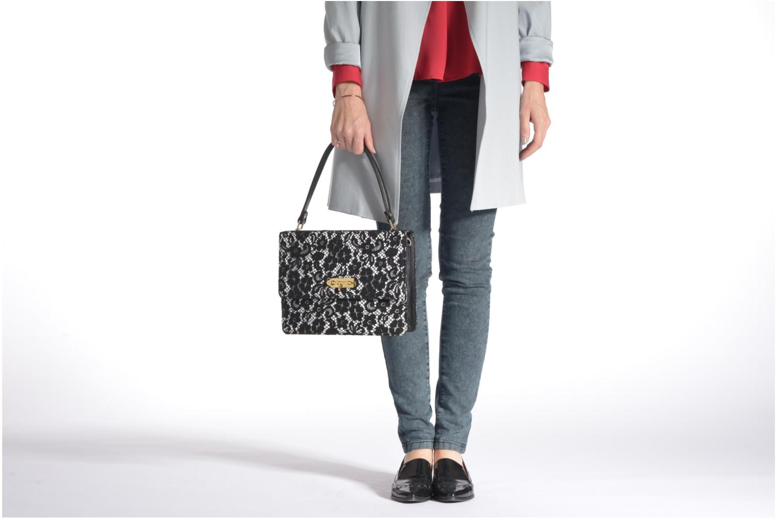 Handbags MySuelly Louise Emma Black view from above